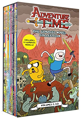 Adventure Time The Graphic Novel Collection Volumes 1 - 10...