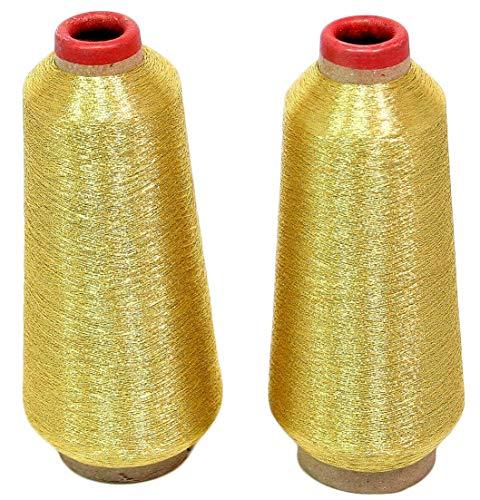 ThreadNanny New Gold Metallic Machine Embroidery Threads - 10000 Yards