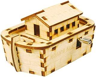 Desktop Wooden Model Kit Orgel Noah's Ark / YG862-14