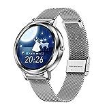 XYZK Reloj inteligente para mujer, MK20, superficie de esfera de...