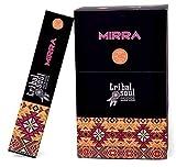 Grenadine Boutique – Incenso Tribal Soul – Myrrrh – Set di 3 scatole da 15 g circa 36 bastoncini