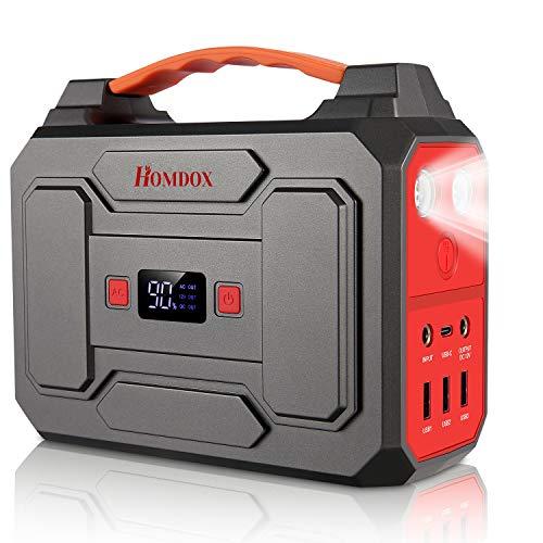 【大感謝セール】Homdox ポータブル電源 大容量 45000mAh/167Wh 家庭用 蓄電池 PSE認証済み 四つの充電方法 7WAY出力式 AC(100W 瞬間最大150W) DC(120W) USB出力 急速充電 QC3.0搭載 LEDライト S