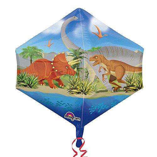 Amscan 3225201 17 x 53,3 cm Dino wereldhoek folie ballonnen