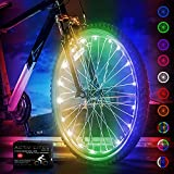 Activ Life Bicycle Spoke Lights (1 Tire, Color-Changing) Bike Accessories for Kids Fun Beach Cruisers, Top Mountain, Cool BMX, Road, Recumbent, Commuting, Tandem, Folding - Best for Wheel Lights