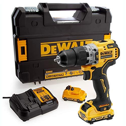 DEWALT DEWDCD706D2 Drill Driver, 12 V
