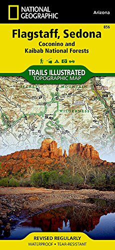 Flagstaff, Sedona [Coconino and Kaibab National Forests] (National Geographic Trails Illustrated Map, 856)