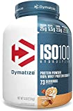 Dymatize ISO 100 Whey Protein Powder with 25g of Hydrolyzed 100% Whey Isolate, Gluten Free, Fast Digesting, Cinnamon Bun, 5 Pound
