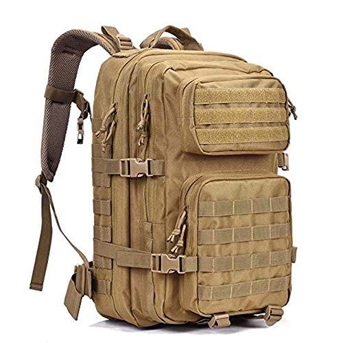 Lv-xing Mochila Trekking Bag Camping Travel Mochila (Color : Brass)