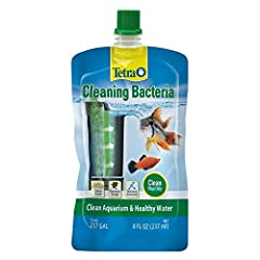 BENEFICIAL BACTERIAL BLEND: Replenishes beneficial bacteria to help filter pollutants in aquarium water. BIOLOGICAL BALANCE: Works to keep your aquarium healthy and biologically balanced. FOR SUPERCHARGED FILTRATION: Cleans gravel and removes sludge ...