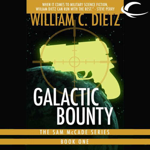Galactic Bounty audiobook cover art