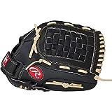 Rawlings PM105BCB - Guante de béisbol para zurdos, 10,5 pulgadas, color negro