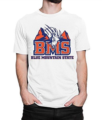 Blue Mountain State T-Shirt, TV Series Tee, Men's Women's (L - Male) White