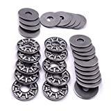 ATOPLEE AXK0819+2AS Thrust Needle Roller Bearings 1pc Cage Needle + 2pcs Washers [ 8x19mm,...