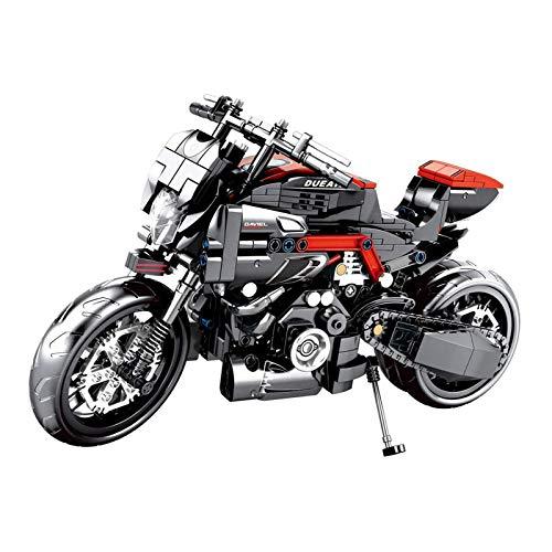 Juego De Construcción De Motocicletas Technic, Juego De Construcción De Motocicletas Technic, Bloques De 702 Piezas Compatibles con Lego, El Modelo De Construcción No Es Creado por Lego