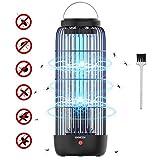 QXMCOV Lampe Anti-Moustique Electrique, 13W 60m² Moustique Tueur Lampe, Répulsif Anti Insectes, UV Piège à Mouche Non Toxique pour Intérieur