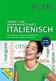 PONS Grund- und Aufbauwortschatz Italienisch: Nach Themen sortiert. Mit MP3-CD zum Üben der richtigen Aussprache und Vokabeltrainer-App für unterwegs.