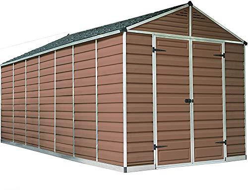 Einfach zu montieren und den BIB-Boden mit Bodenverankerungsoptionen mit Bodenverankerungsoptionen zu schützen,Brown- 8x12