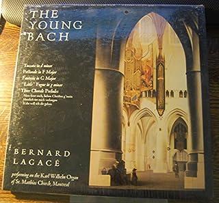 Bach Vinyl Collection: The Young Bach (Bernard Lagace), Brandenburg Concertos Nos. 2-3-5, Bach Organ Favorites (E. Briggs), Stuttgart-St. EberhardLudger Lohnman