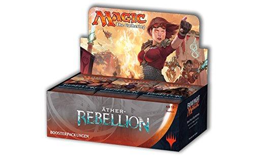 Magic The Gathering MTG-AER-BD-DE - Äther Rebellion Booster Display (36 Packs),