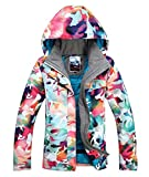 Women's Waterproof Ski Jacket Insulated Windproof Snow Coat 13 L