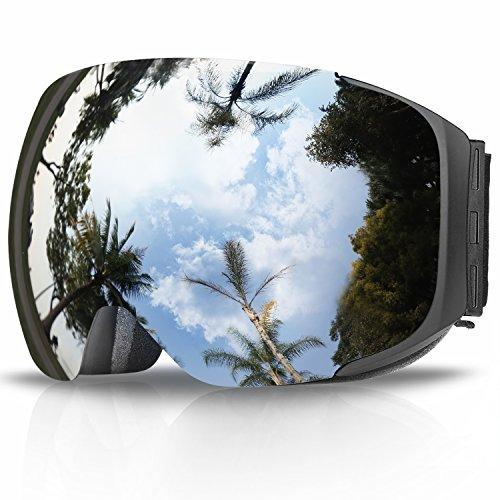 eDriveTech-Gafas de Esquí, Anti Niebla OTG