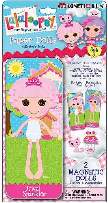 Lalaloopsy Magnetic Fun Paper Dolls Set 3