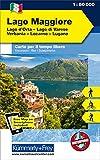 Italien Outdoorkarte 08 Lago Maggiore 1 : 50.000: Lago di Varese, Locarno-Lugano. Wanderwege, Radwanderwege, Nordic Walking, Skilanglauf, Skitouren (Kümmerly+Frey Outdoorkarten Italien)