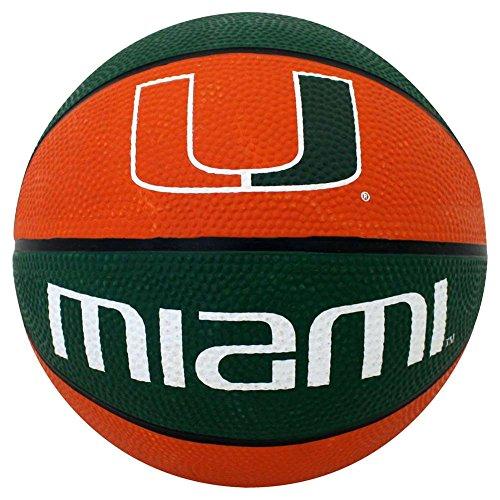 Buy Bargain Miami Hurricanes Mini Rubber Basketball