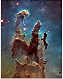 The Pillars Of Creation - Photo from the Hubble Space Telescope- 11x14 Unframed Art Print - Great Gift Under $15 For Space Lovers and Astronomers