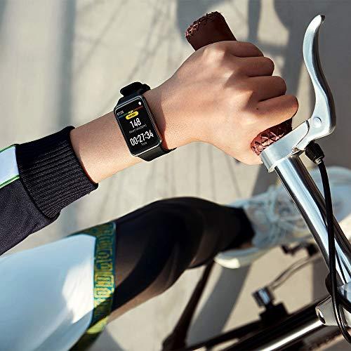 HUAWEI Watch Fit Smartwatch (42mm AMOLED-Display, Herzfrequenzmessung, 5ATM wasserdicht, GPS) Graphite Black [Exklusiv + 5 EUR Amazon Gutschein] - 7