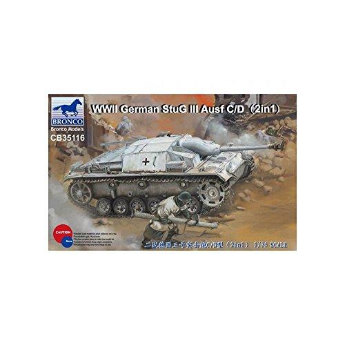 Unbekannt Bronco Models cb35116 – Maqueta de WWII German
