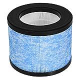 COSTWAY Filtre HEPA de Ramplacement en Cylindre pour Purificateur d'Air 17,5 x 17,5 x 14cm (L x l...