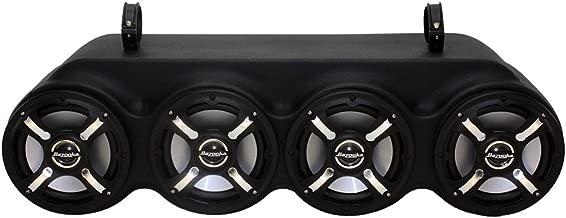 Polaris General Bluetooth Sound Bar with LED Speakers and RF Remote-WAKE465BZLEDAQ