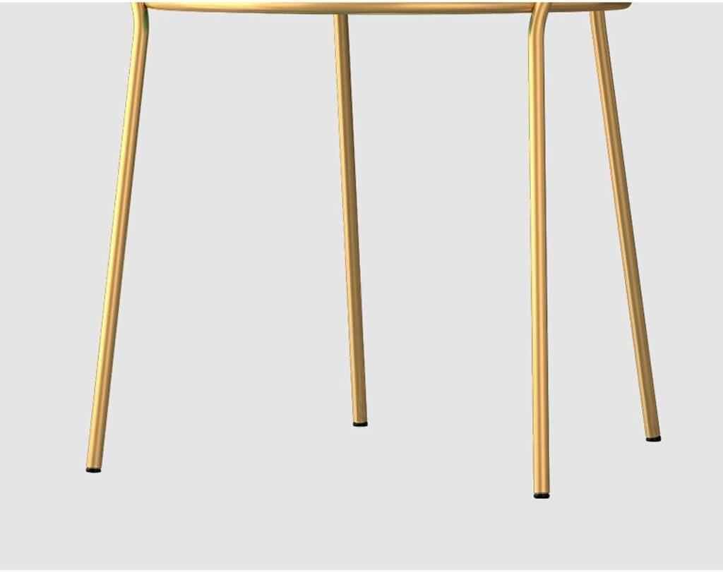 XXT-Chaise de Salle, Chaise de Bureau Simple, créative Dossier, Chaise Loisirs, Maison Adulte Chaise de Salle Durable (Color : Yellow) Orange