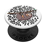 Sloth Pop Socket - Cute Tree Branch Animal Lazy Baby Sloth PopSockets PopGrip: Swappable Grip for Phones & Tablets