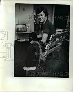 Historic Images - 1976 Press Photo Steve Rosen Found Second Deck seat from Old Yankee Stadium
