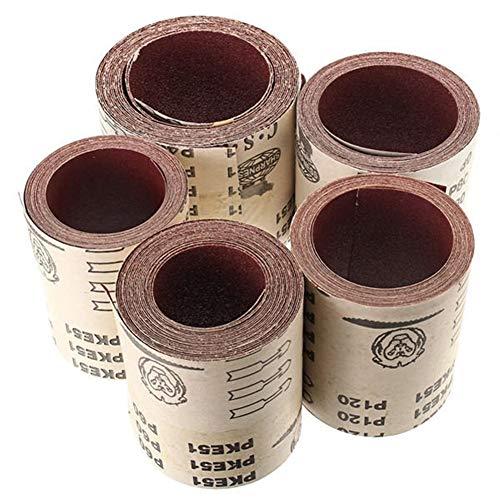 Purchase Multitool Sanding Kits Grit Aluminium Oxide Sandpaper Abrasive Tool 115mmx5mm 40 60 80 120 ...