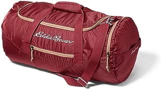Eddie Bauer Unisex-Adult Stowaway Packable 45L Duffel, Maroon Regular ONE SIZE