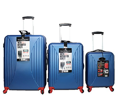 VK Vivien Kondor London Travel Smart Koffer-Set 77 Centimeters Blau (Blue)