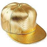 KYEYGWO Berretto unisex Hip Hop Snapback Cap per uomo e donna regolabile Flat Brim Basebal...