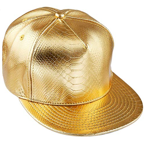 KYEYGWO Unisex Hip Hop Kappe, Snapback Caps Mütze für Herren und Damen Verstellbar Flat Brim Baseball Cap
