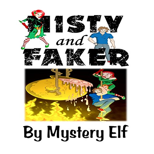 Misty and Faker audiobook cover art