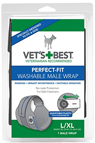 Washable Dog Diaper With Built-in Absorbent Pads