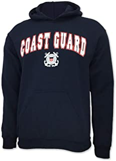 United States Coast Guard Arch Seal Hooded Sweatshirt