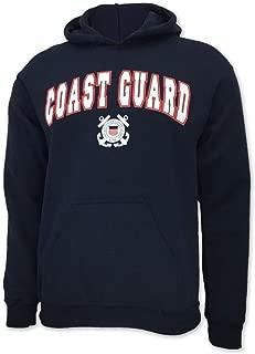 United States Coast Guard Arch Seal Hooded Sweatshirt