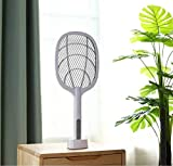 PaxMore Rechargeable Electric Mosquito Killer Bug Zapper Fly Swatter Mosquito Racket