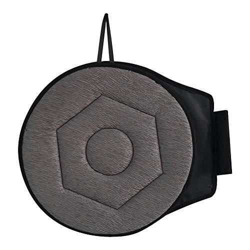 precauti Rutschfestes 360-Grad-Auto-Sitzkissen Komfort-Drehsitzkissen Tragbares Sitzkissen für ältere Schwangere
