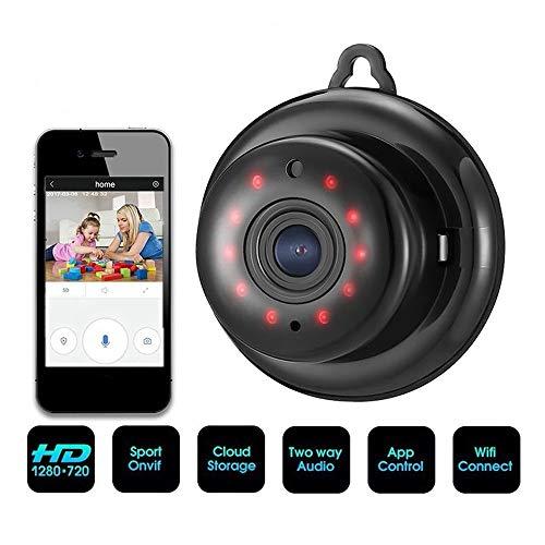 ZTKBG Baby Monitor WiFi Cry Alarm IP-camera WiFi Video Nanny Cam Baby Camera Nachtzicht draadloze videobewaking CCTV-camera, 32g