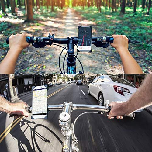 Handyhalterung Fahrrad,Universal Fahrrad Handyhalterung 360°Drehbare Handyhalter Fahrräder GPS Für 3,5-6,5 Zoll Smartphone GPS Andere Geräte Anti-Shake Fahrradzubehör Radsport Verhütung Von Abstürzen - 6