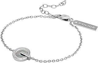 POLICE PJ26339BSS/01 Women's Incredible Silver Stainless Steel Bracelet